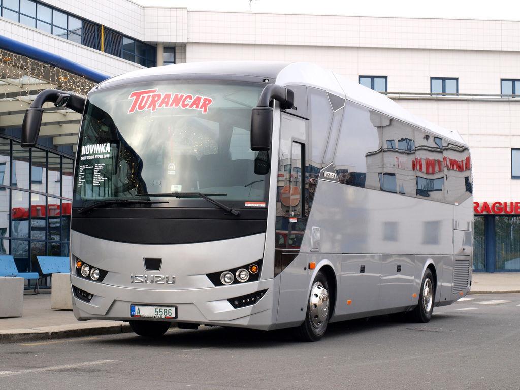 nový linkový autobus ISUZU VISIGO