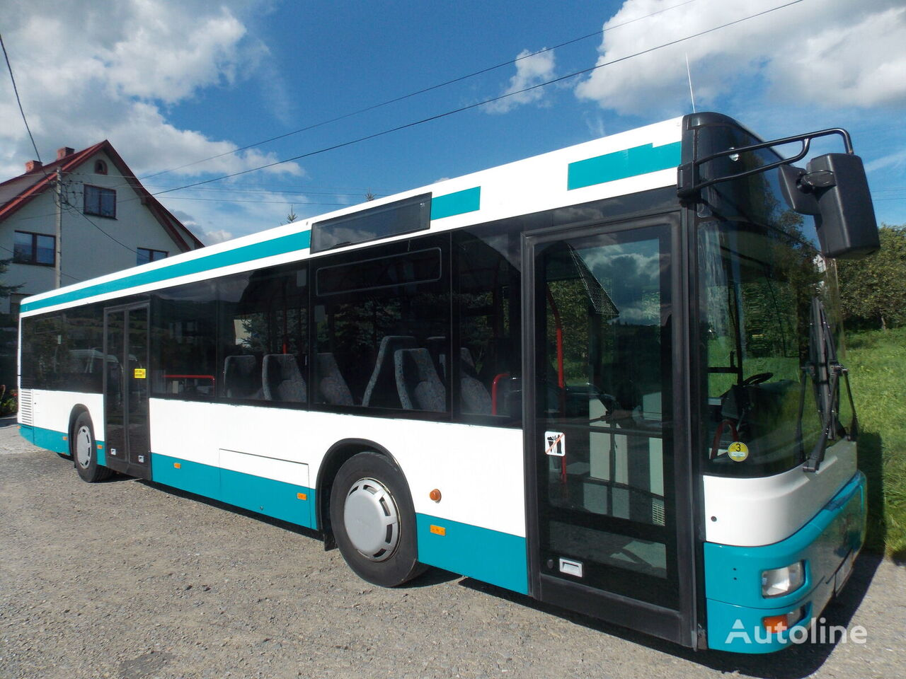 linkový autobus MAN A 20