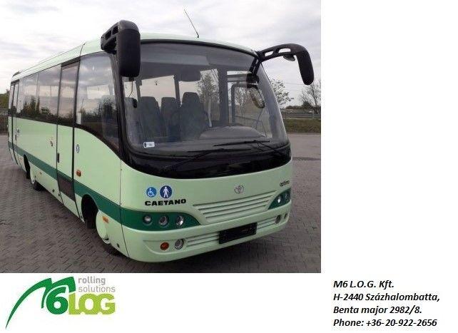 linkový autobus TOYOTA Caetano