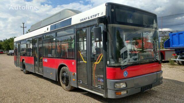 městský autobus MAN NL 243 M 12 LPG MEHR STUCK