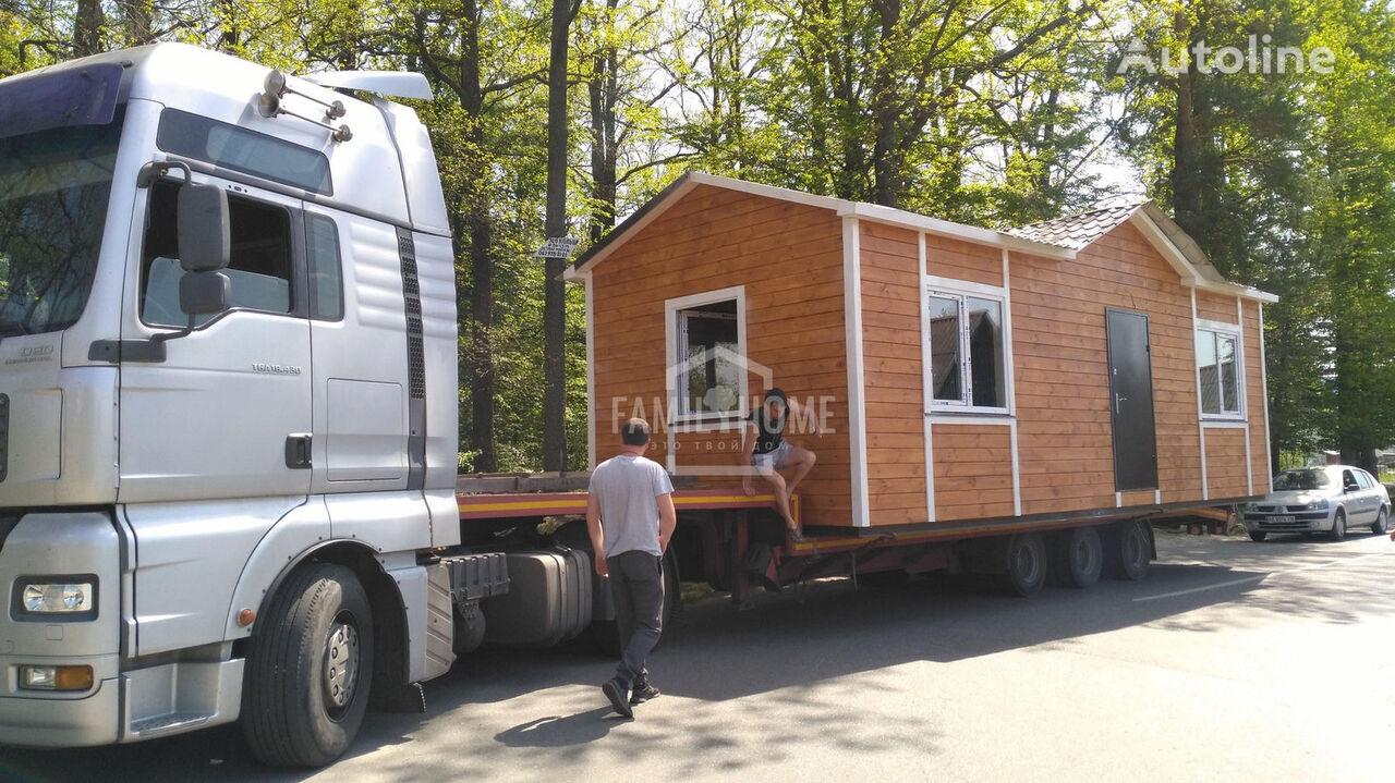 nový mobilní dům FamilyHome bez dostavki