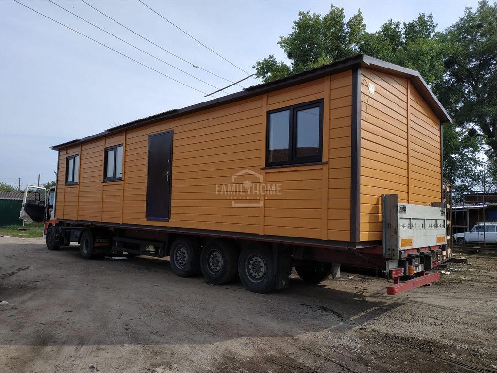 nový mobilní dům FamilyHome transport ne vklyuchen