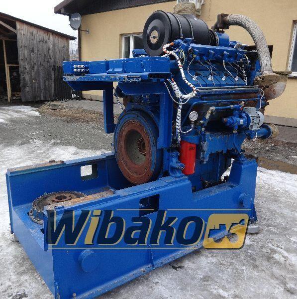 motor DEUTZ TBG 616 V8 pro traktoru