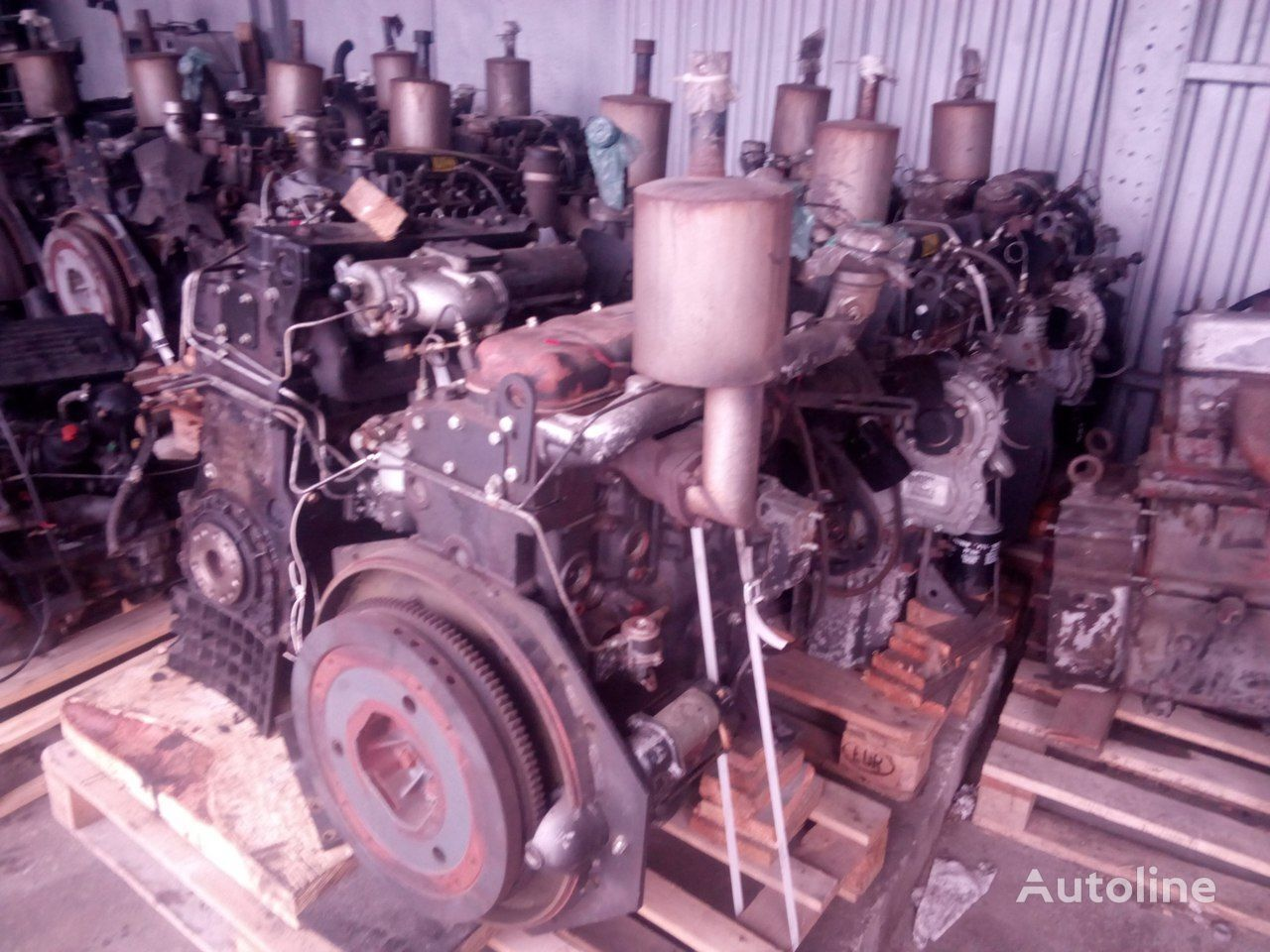 motor PERKINS LD pro vysokozdvižného vozíku JCB