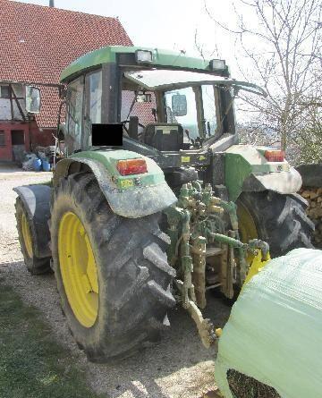 převodovka JOHN DEERE pro traktoru JOHN DEERE UNIVERSALTYP TMA 6400 M