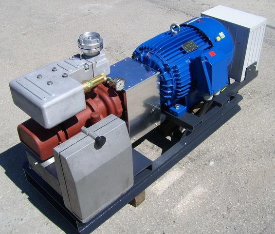 vzduchový kompresor aggregate with 30kW electric engine and CG80 pro cisterny návěsy