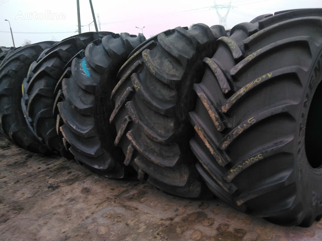 nákladní pneumatiky Goodyear Used Agricultural tires of all sizes