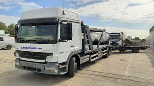 autotransportér MERCEDES-BENZ Atego 1323 / 7 Cars / Winch / Airco + přívěs autotransportér