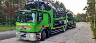 autotransportér RENAULT Premium 410 + přívěs autotransportér