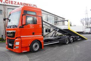 autotransportér MAN TGX 26.440 XXL , E6 , 6X2 , NEW BODY 7,5m , hydraulic , 2x winch