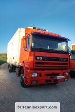 chladírenský nákladní vozidlo DAF 95 360 ATI left hand drive ZF manual pump 19 ton