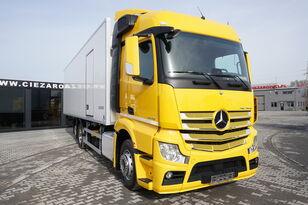 chladírenský nákladní vozidlo MERCEDES-BENZ Actros 2542 , E6 , 6x2 , 22 EPAL , Side door , lift axle , Carri