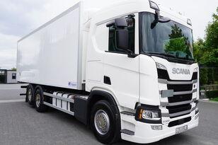 chladírenský nákladní vozidlo SCANIA SCANIA R500, Euro 6, 6x2, 19 EPAL refrigerator , lifting axle, N