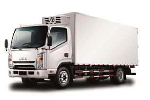 nové chladírenský nákladní vozidlo JAC Изотермический фургон с ХОУ JAC N 80