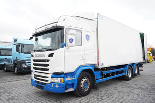 chladírenský nákladní vozidlo SCANIA G490, Meat hooks , 19 EPAL