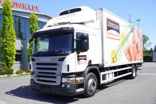 chladírenský nákladní vozidlo SCANIA P280 , E5 , 18 EPAL , Meat HOOKS , tail lift , retarder , sleep
