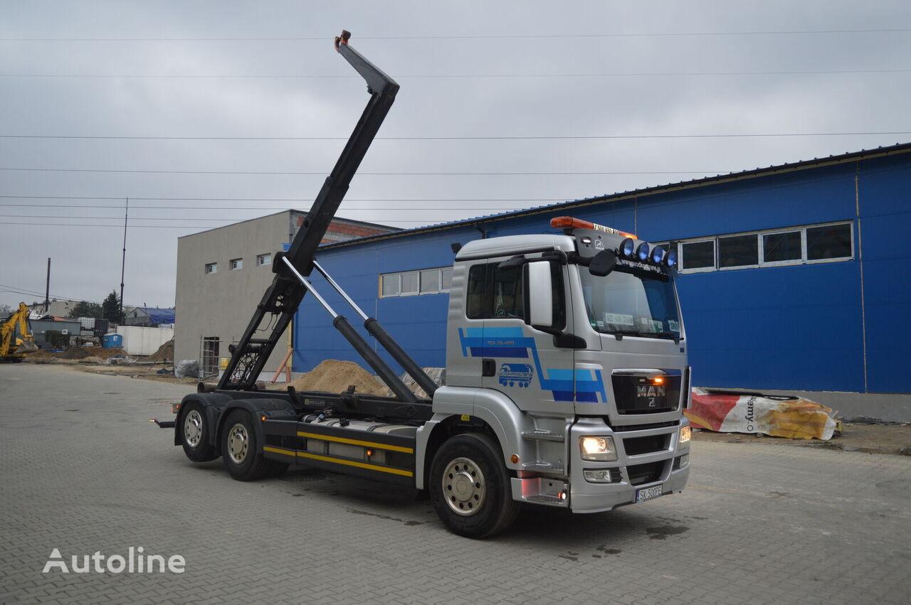 hákový nosič kontejnerů MAN TGS 26.400
