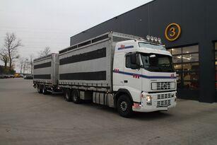 nákladní automobily pro přepravu drůbeže VOLVO FH12.480 6x4 + přívěs furgon
