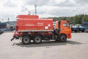 nové nákladní vozidlo cisterna KAMAZ АЦ - 17 с насосом на шасси Камаз 65115-50