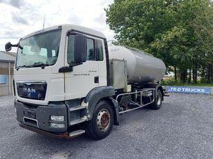 nákladní vozidlo cisterna MAN TGS 18.360 - citerne en inox isotherme-2 compartiments