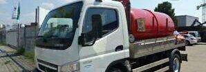 nákladní vozidlo cisterna MITSUBISHI CANTER 7C15
