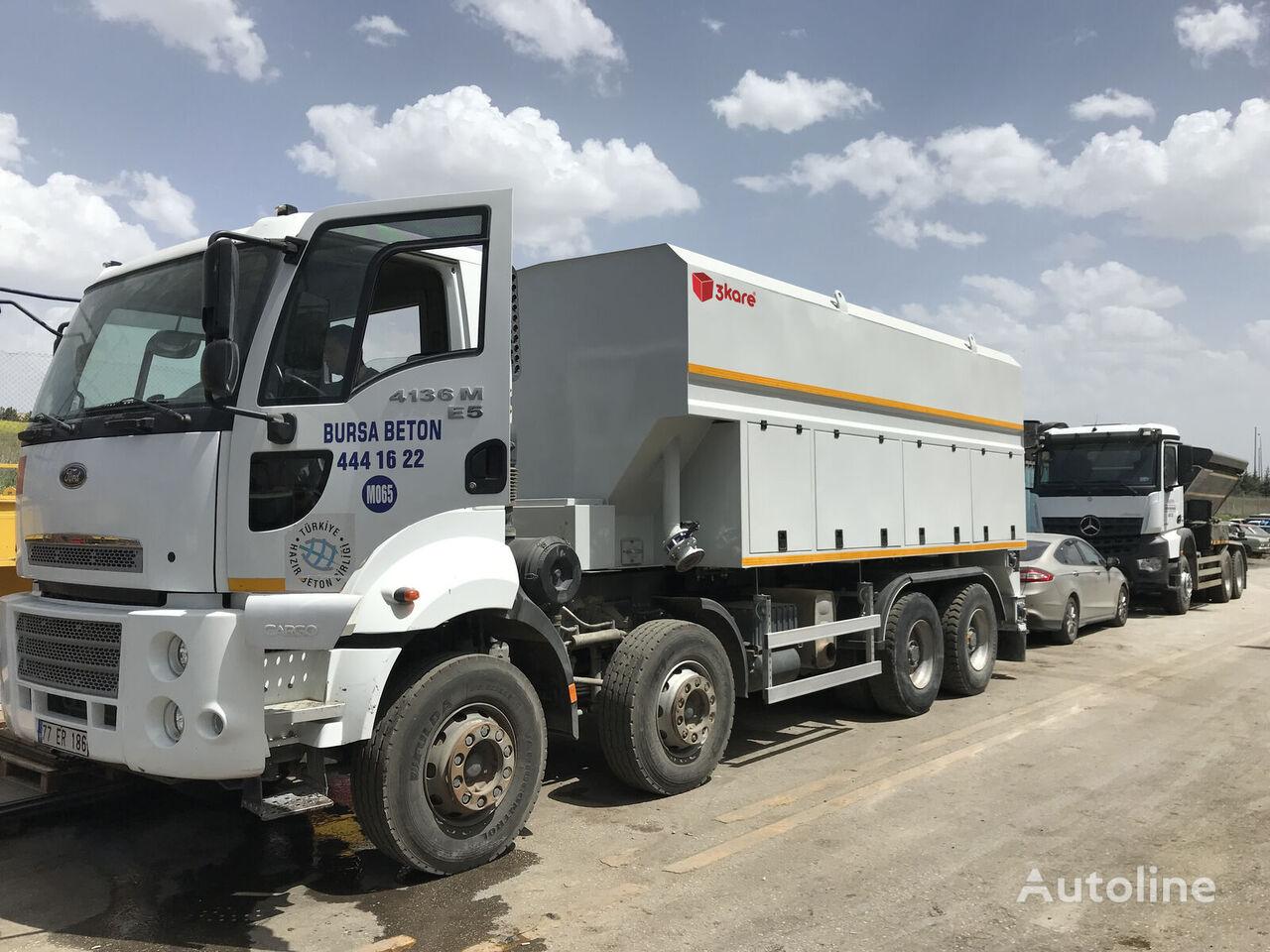 nové nákladní vozidlo cisterna pro přepravu cementu 3Kare Toz Malzeme Serici / Çimento Serici
