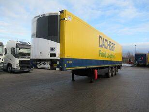 nákladní vozidlo furgon KRONE Mrazárenský návěs Theromking