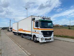 nákladní vozidlo furgon MERCEDES-BENZ ACTROS 1844 + přívěs