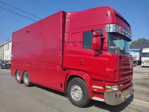 nákladní vozidlo furgon SCANIA 144 G  460  V8   6x2  ///MANUEL//RETARDER///FRENCH TRUCK///