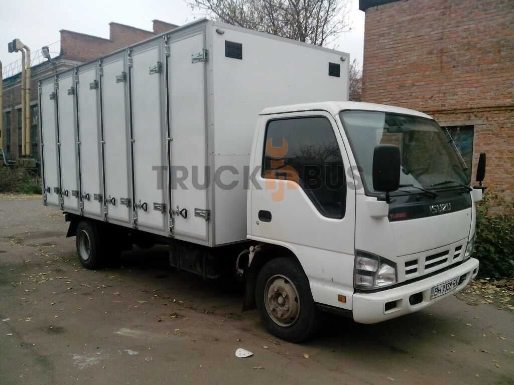 nový nákladní vozidlo furgon ISUZU NPR 75L-K/M hlebnyy furgon