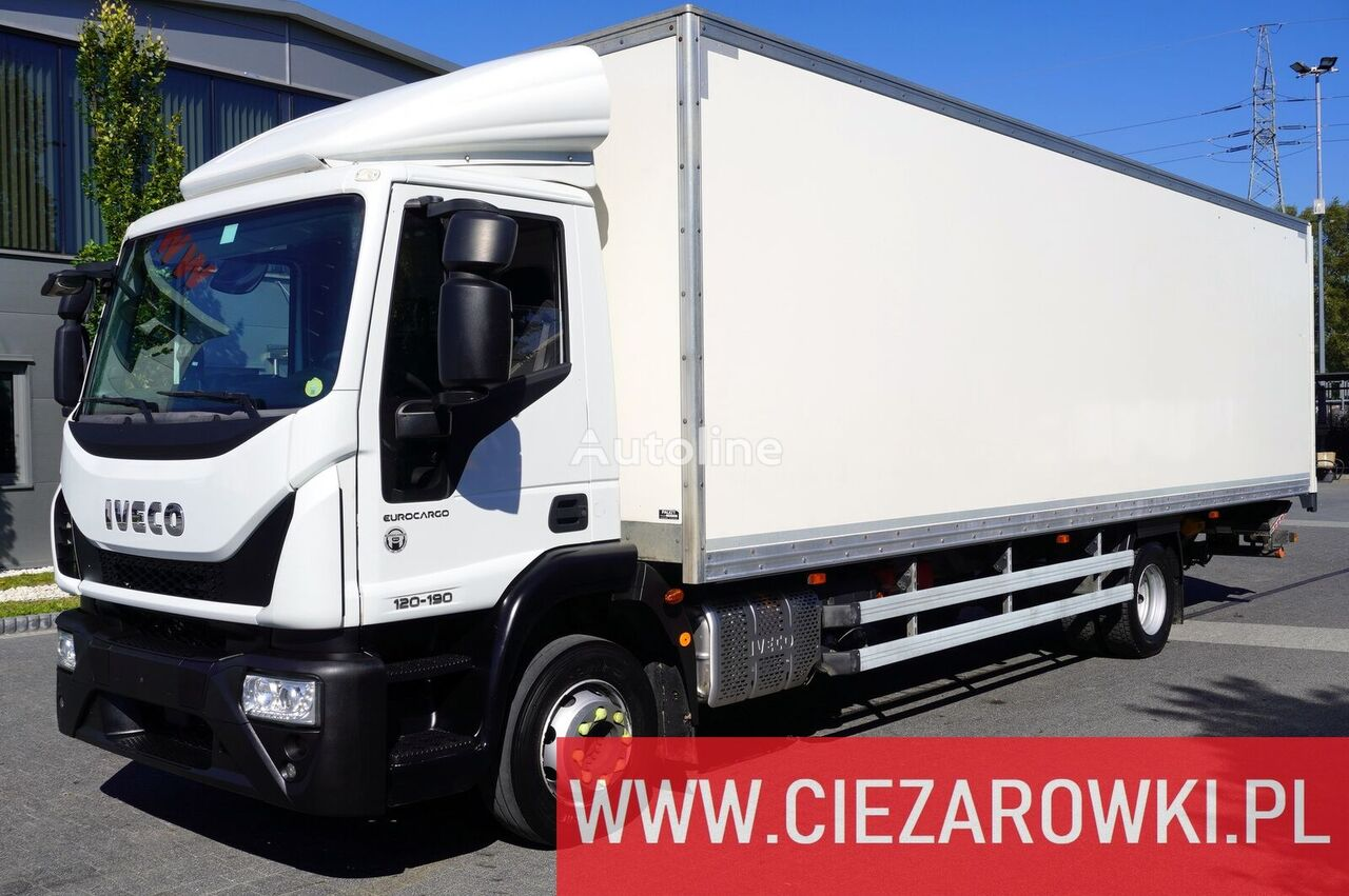 nákladní vozidlo furgon IVECO Eurocargo 120E19 , E6 , 4x2 , 21 EPAL , box 8,5m , side door , l