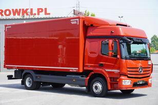 nákladní vozidlo furgon MERCEDES-BENZ Atego 1224, E6, 4x2, 6.10m container, GLOB cabin, retarder