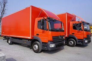 nákladní vozidlo furgon MERCEDES-BENZ Atego 1224, E6, 4x2, 7.10 m container, retarder, 3-person cabin