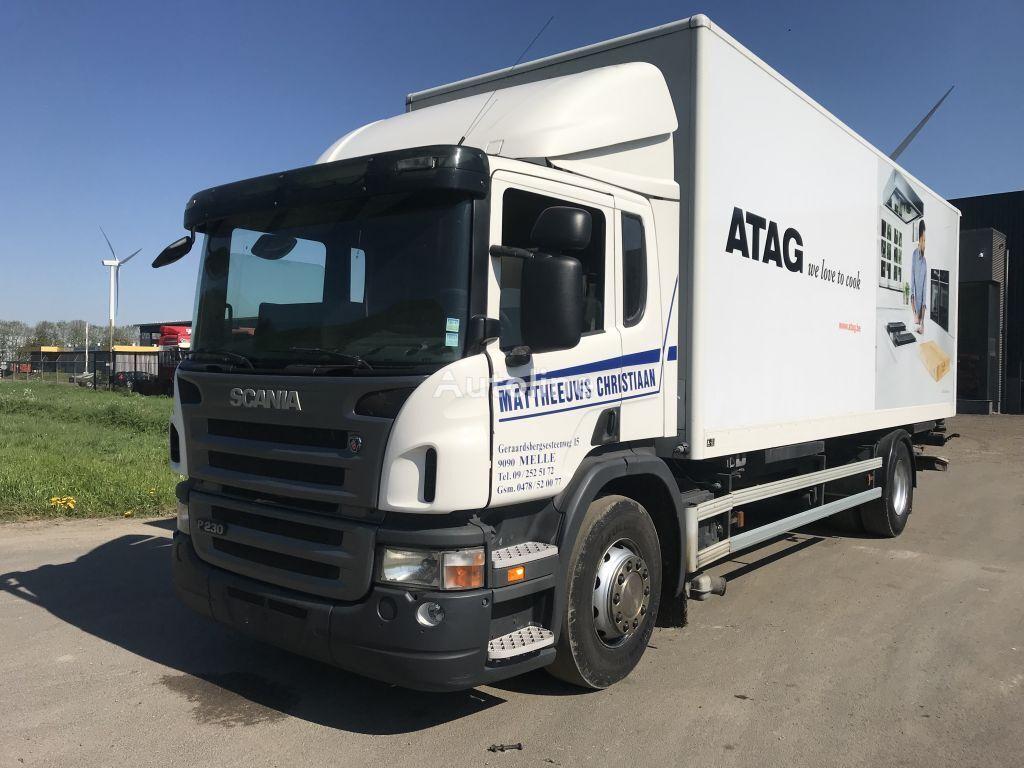 nákladní vozidlo furgon SCANIA P 230