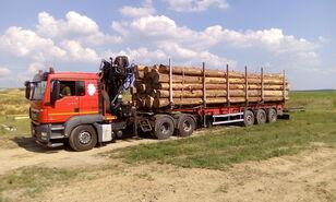 nákladní vozidlo na přepravu dřeva MAN TGS 26.480 6x4 BB