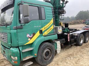 nákladní vozidlo na přepravu dřeva MAN Tga 26.480  6x4 Loglift 215Z