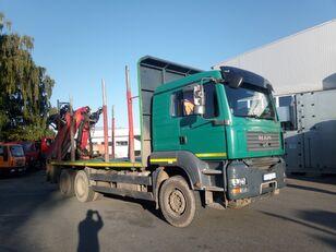 nákladní vozidlo na přepravu dřeva MAN-VW TGA 33.480