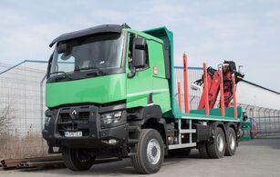 nové nákladní vozidlo na přepravu dřeva RENAULT K 520 P HEAVY