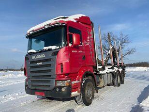 nákladní vozidlo na přepravu dřeva SCANIA R-420