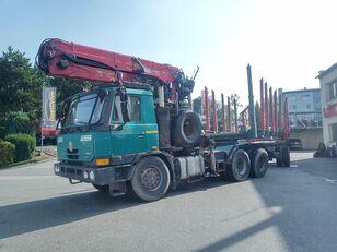 nákladní vozidlo na přepravu dřeva TATRA EURO 3