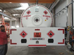 nové nákladní vozidlo na přepravu plynu MERCEDES-BENZ DOĞUMAK BOBTAIL ROAD TANK