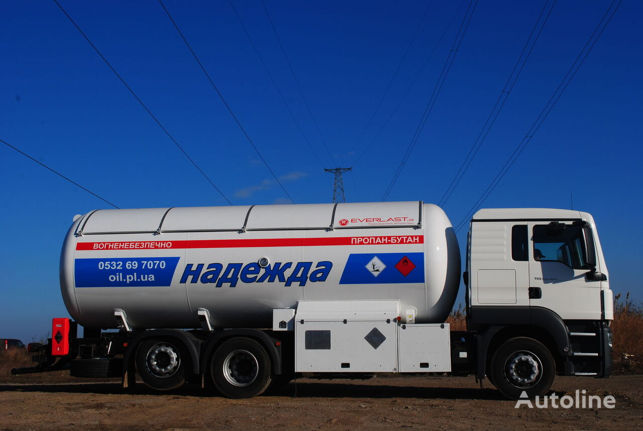 nákladní vozidlo na přepravu plynu EVERLAST ACG-24