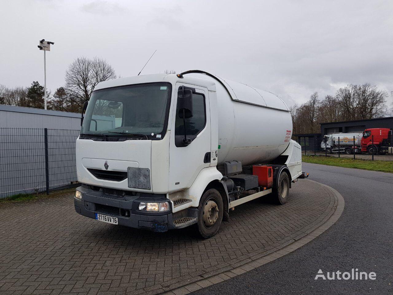 nákladní vozidlo na přepravu plynu RENAULT Midlum 210 GPL 14435 LITRES