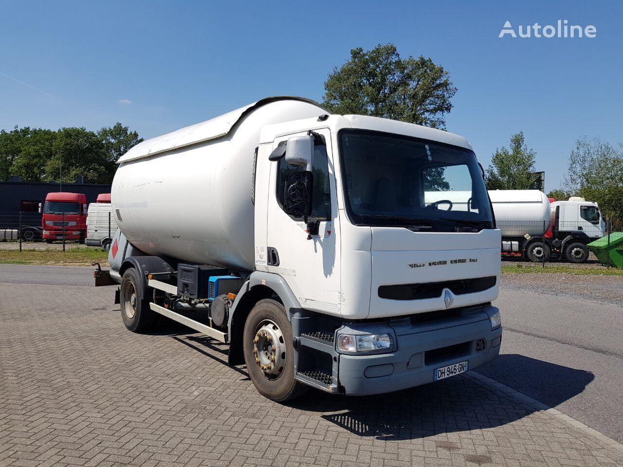 nákladní vozidlo na přepravu plynu RENAULT Premium 270 dci