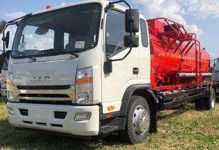 nové nákladní vozidlo na přepravu pohonných hmot JAC Автотопливозаправщик АТЗ-8 на шасси JAC N 120