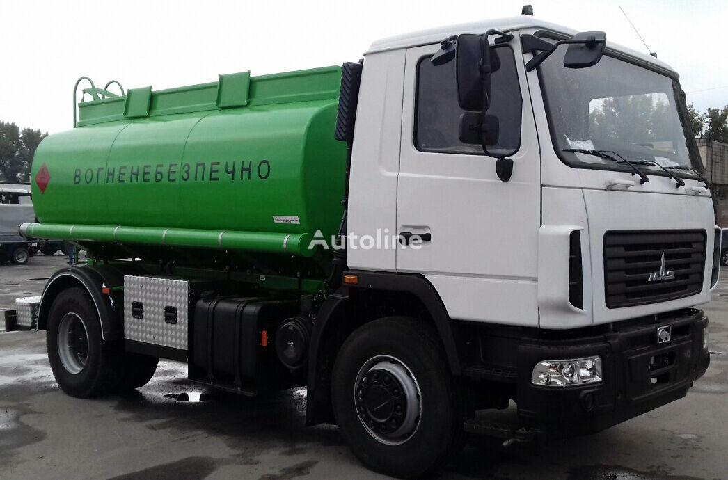 nové nákladní vozidlo na přepravu pohonných hmot MAZ