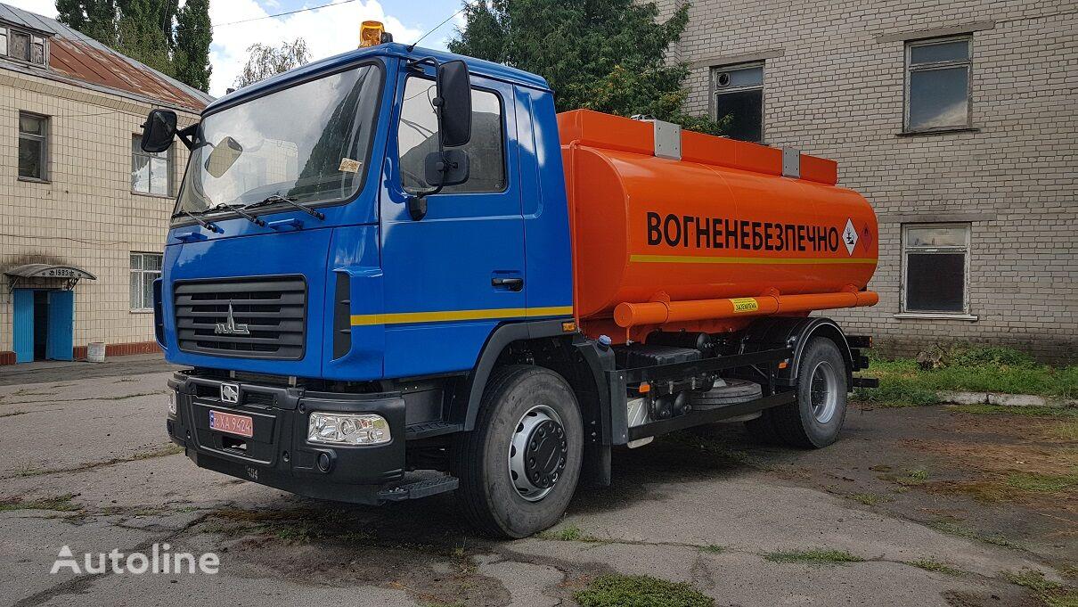 nové nákladní vozidlo na přepravu pohonných hmot MAZ 5340S2