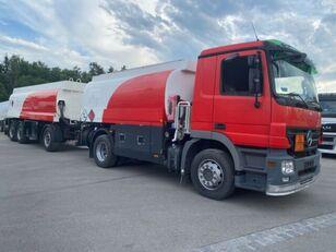 nákladní vozidlo na přepravu pohonných hmot MERCEDES-BENZ 1844. 1846 Tankwagen 13050L + palivová cisterna
