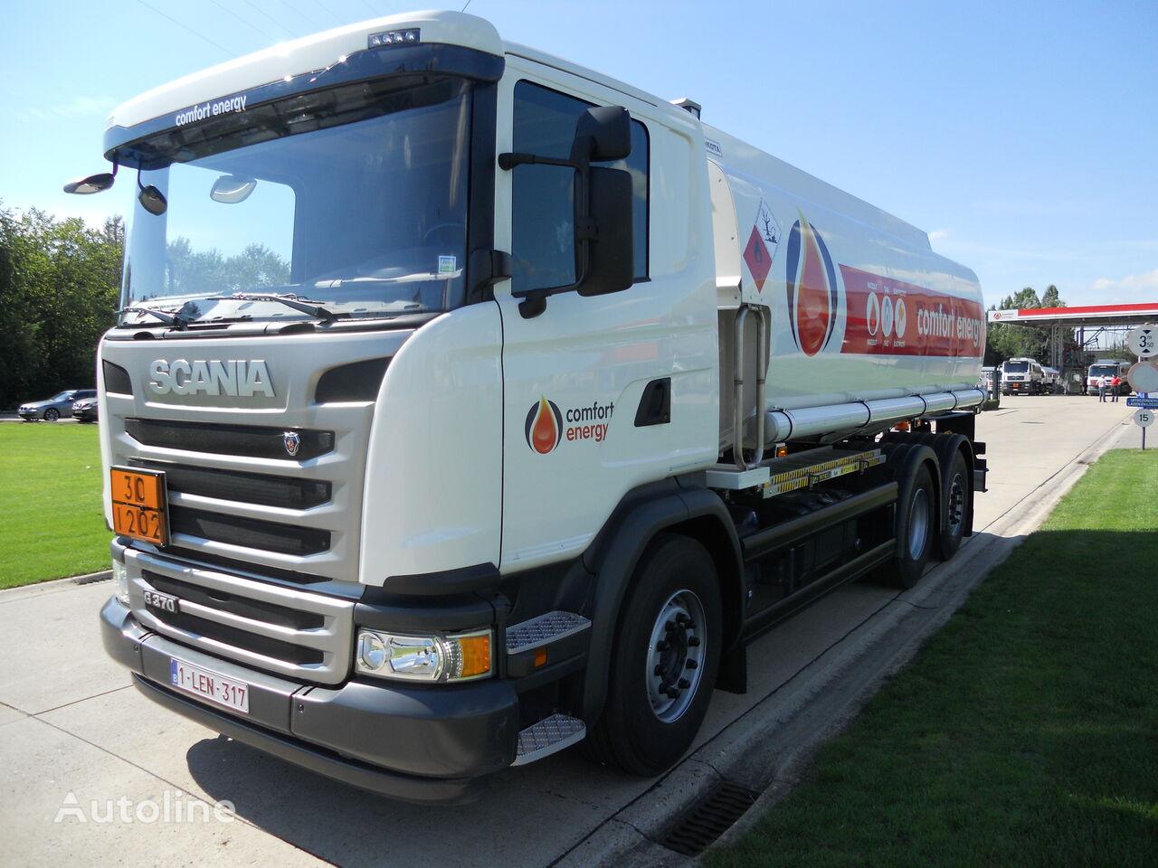nákladní vozidlo na přepravu pohonných hmot SCANIA