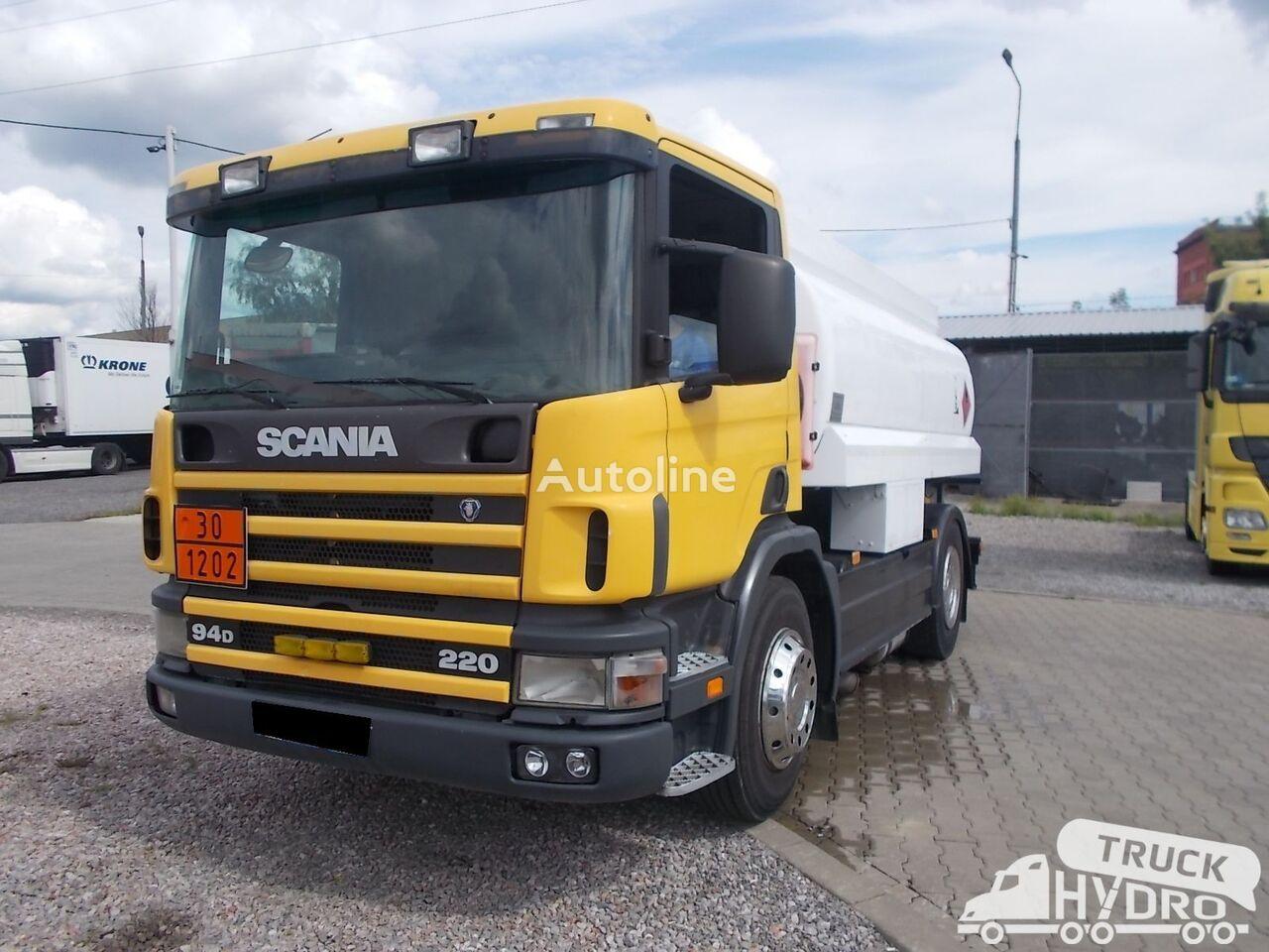 nákladní vozidlo na přepravu pohonných hmot SCANIA P 94 - STAN BARDZO DOBRY !!